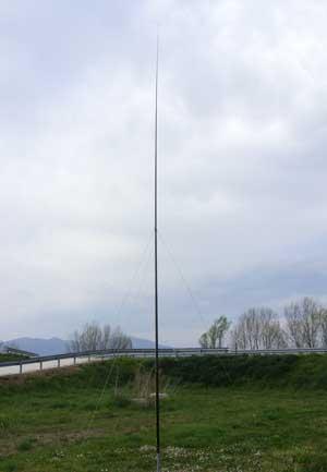 Antenna canna da pesca
